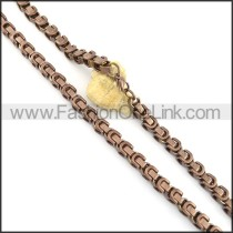 Fashion Plated Necklace n000634