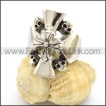 Stainless Steel Skull Ring   r002582