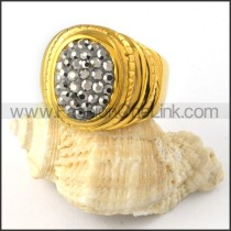 Stainless Steel Round Shape Ring r000222