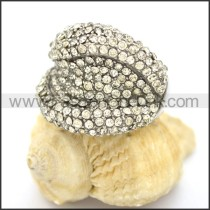 Delicate Shiny Stone Ring r002166