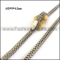 Hasp Stamping Necklace n001136