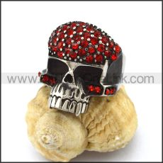 Exquisite Stainless Steel Skull Ring  r002880