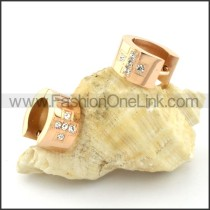 Exquisite Stainless Steel Plating Earrings    e000337