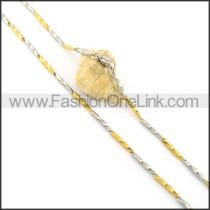 Unique Plated Necklace n000638