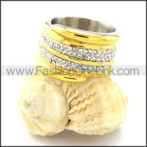 Stainless Steel Comfort Fit Ring r000769