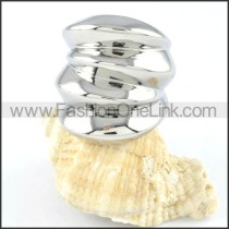 Stainless Steel Plated Ring r000129
