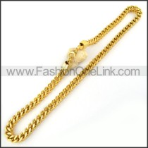 Fashion Golden Plated Necklace   n000064