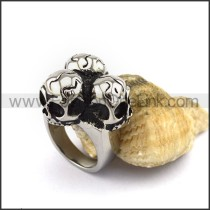 Exquisite Stainless Steel Skull Ring r002898