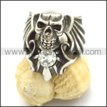 Unique Stainless Steel Skull Ring r002122