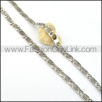 Good Quality Stamping Necklace    n000320