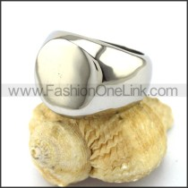 Smooth Surface Stainless Steel  Ring r002871