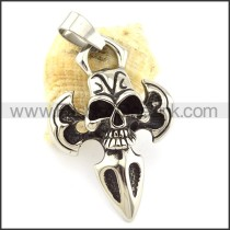 Unique Stainless Steel Skull Pendant   p001099