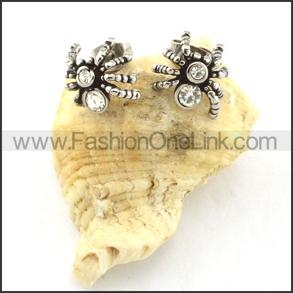 Lovely Stainless Steel Animal Earrings    e000412