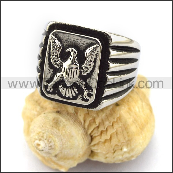 Stainless Steel Animal Ring   r003007