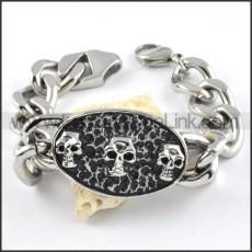 Wicked Skull Bracelet b000257