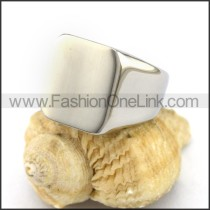 Good Selling Shiny Stainless Steel Plain Casting Ring  r002949