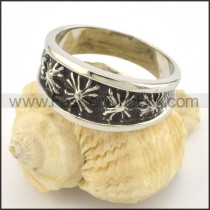 Exquisite Stainless Steel Ring r001437