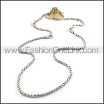 Simple Silver Small Chain n001073