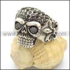 Unique Skull Stainless Steel Ring   r002462