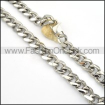 Silver Plated Necklace   n000132