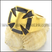 Fashion Cross Ring r001509