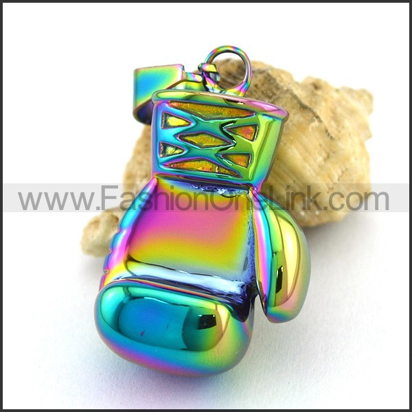 Delicate Stainless Steel Plating Pendant  p003054
