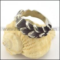 Vintage Stainless Steel Ring r001373