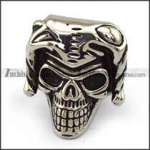Stainless Steel Skull Ring  r003706