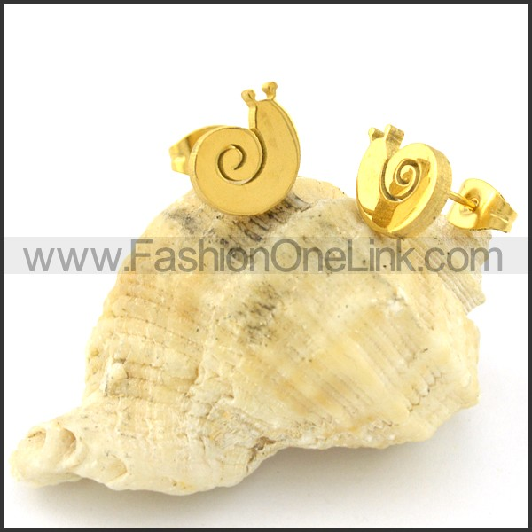 Snail Earrings   e000603