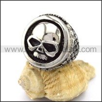 Exquisite Stainless Steel Skull Ring r002902