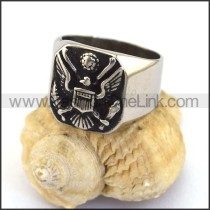 Unique Stainless Steel Casting Ring  r003053