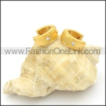 Classic and Simple Stainless Steel Earrings      e000178