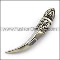 Exquisite Stainless Steel Casting Pendant   p003927