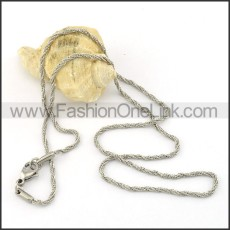 Delicate Stainless Steel  Small Chain    n000414