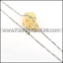 Succinct Silver Small Chain   n000146