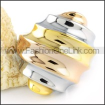 Ring Stack Design Stainless Steel  Ring     r000114