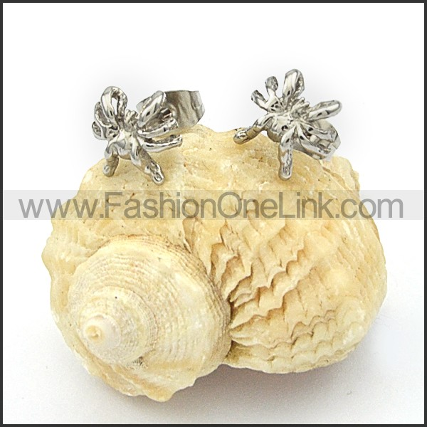 Delicate Stainless Steel Animal  Earrings  e000073