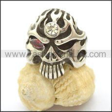 Unique Skull Stainless Steel Ring  r002467
