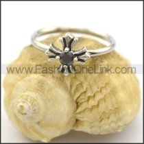 Graceful Stone Ring r002219