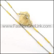 Delicate Plated Necklace    n000367