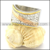 Beautiful Stone Plating Ring r000785