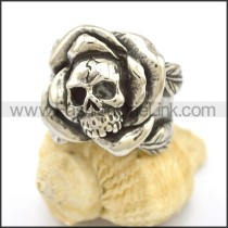 Unique Stainless Steel Skull Ring  r002714