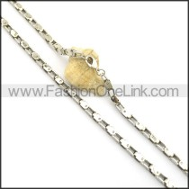 Bike Chain Stamping Necklace n000924