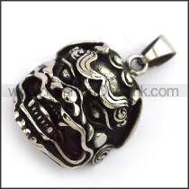 Exquisite Stainless Steel Casting Pendant   p003998