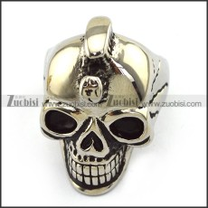 Stainless Steel Skull Ring    r003705
