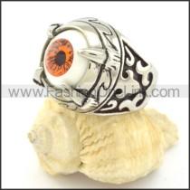 Prong Setting Eye Ring r001298