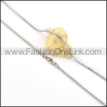 Beautiful Silver Small Chain   n000143