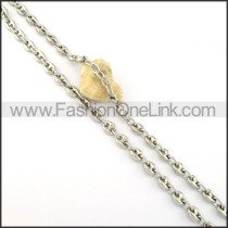 Delicate Stamping Necklace  n000313