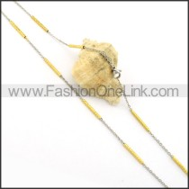 Exquisite Plated Necklace    n000364