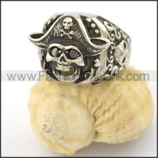 Dlicate Skull Ring r001573